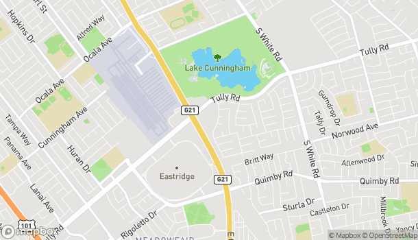 Map of 2980 E Capitol Expy in San Jose