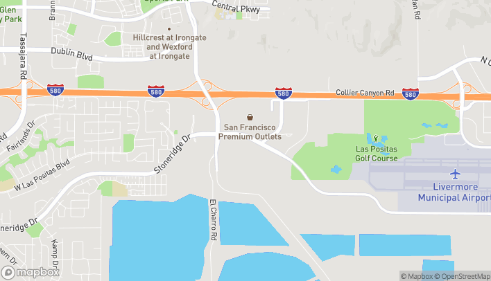 Map of 3030 West Jack London Blvd in Livermore