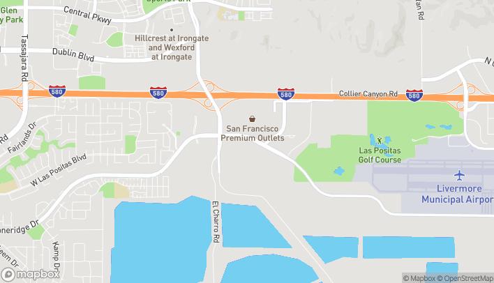 Mapa de 3030 West Jack London Blvd en Livermore