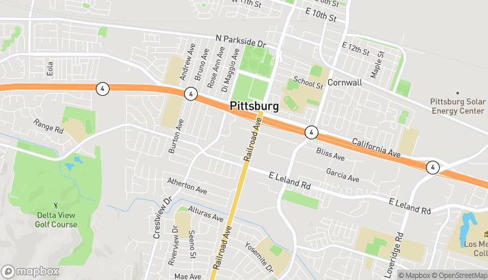 Mapa de 2136 Railroad Avenue en Pittsburg