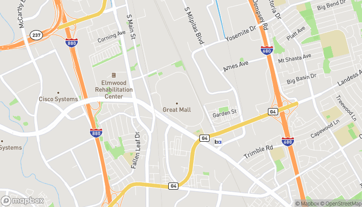 Map of 447 Great Mall Road in Milpitas