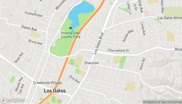 Map of 630 Blossom Hill Rd in Los Gatos