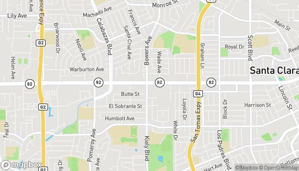Mapa de 2794 El Camino Real en Santa Clara