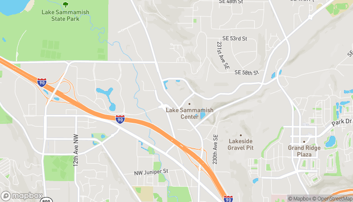 Map of 6150 E Lake Sammamish Parkway SE in Issaquah