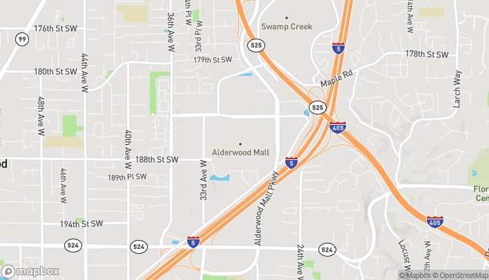 Map of 3000 184th St Sw in Lynnwood