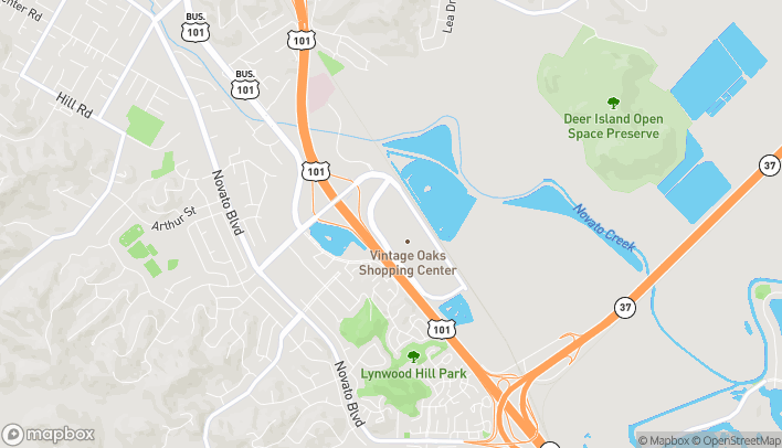 Map of 140 Vintage Way in Novato