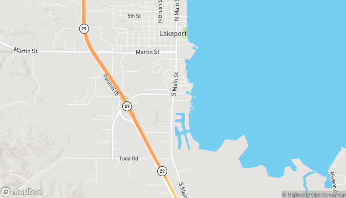 Map of 1265 S Main Street in Lakeport