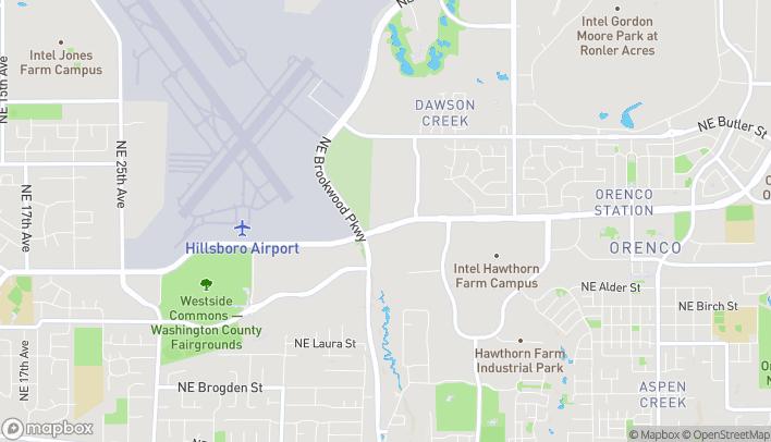 Map of 1241 NE 48th Ave in Hillsboro