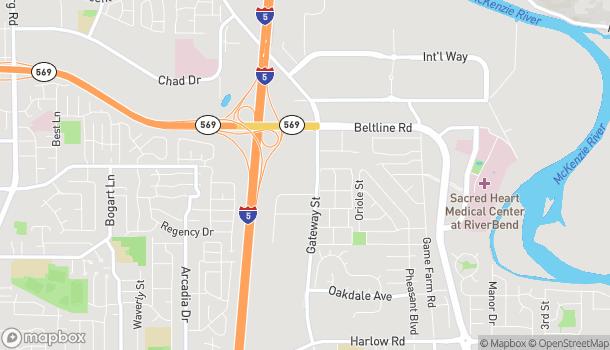 Mapa de 3270 Gateway Street en Springfield