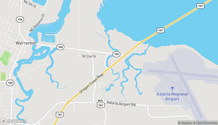 Map of 159 South Highway 101 in Warrenton