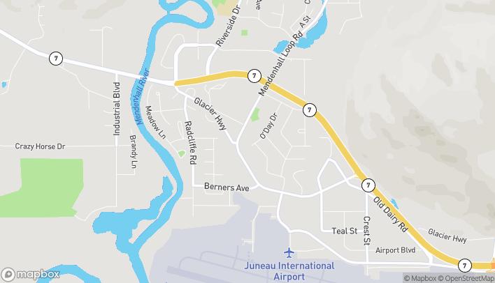 Mapa de 9400 Glacier Hwy en Juneau