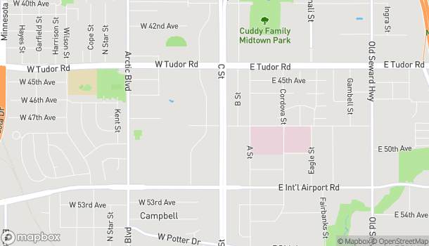 Map of 4711 Business Park Blvd in Anchorage