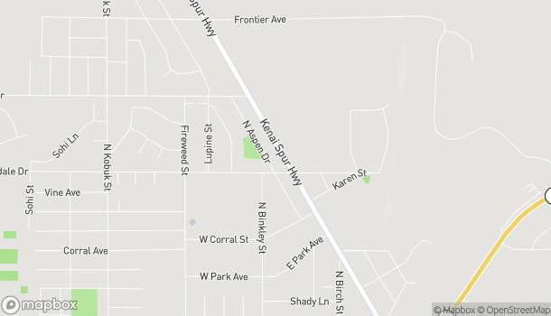 Mapa de 35551 Kenai Spur Hwy en Soldotna