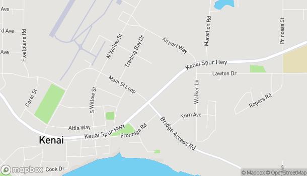 Map of 10672 Kenai Spur Hwy in Kenai