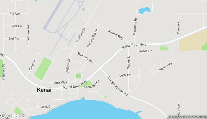Mapa de 10672 Kenai Spur Hwy en Kenai