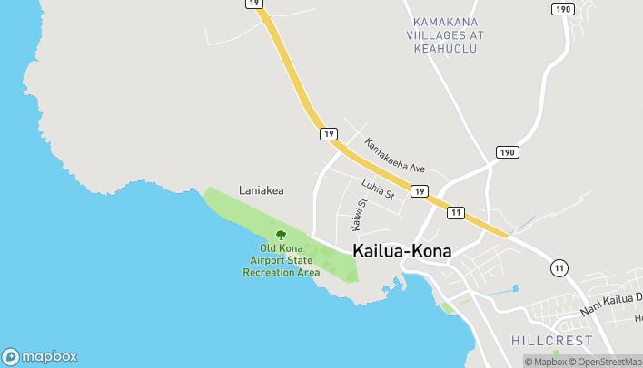 Mapa de 74-5457 Makala Boulevard en Kailua Kona