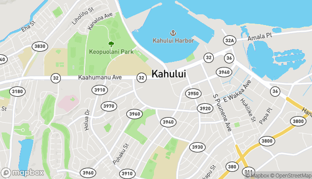 Map of 275 West Kaahumanu Ave in Kahului