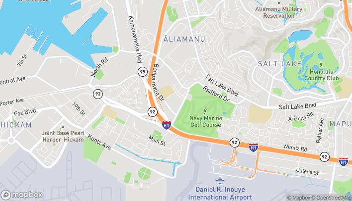 Map of 930 Valkenburgh St in Honolulu