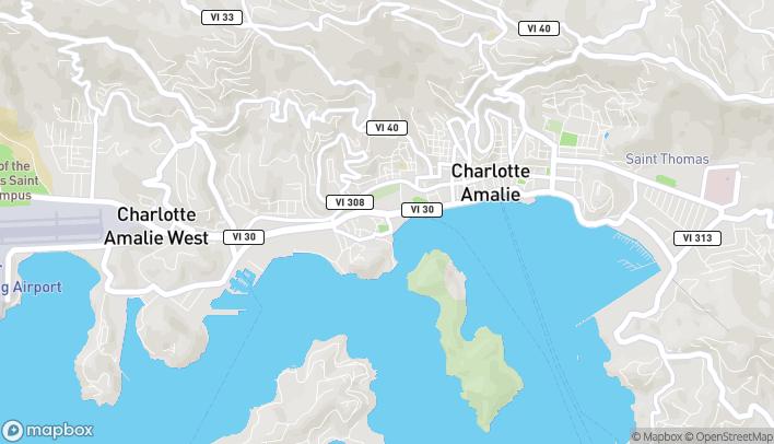 Map of 26 Estates Charlotte Amalie in Charlotte Ama