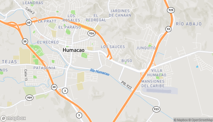 Map of 75 Triumph Plaza in Humacao