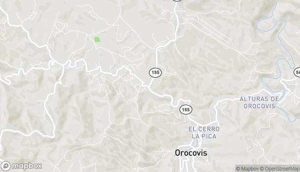 Map of Bo Gato Street 155 Km 30.5 in Orocovis