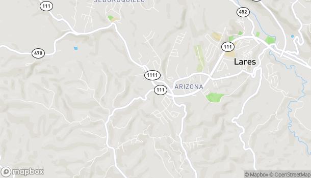 Map of #389 Ave. Los Patriotas in Lares