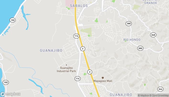 Map of 52 Calle Tenerife in Mayaguez