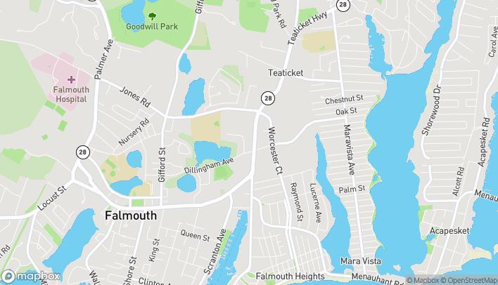 Mapa de 62 Davis Straits en Falmouth