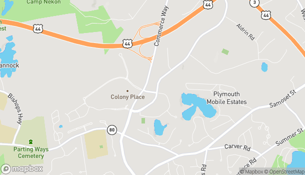 Map of 51 Commerce Way in Plymouth