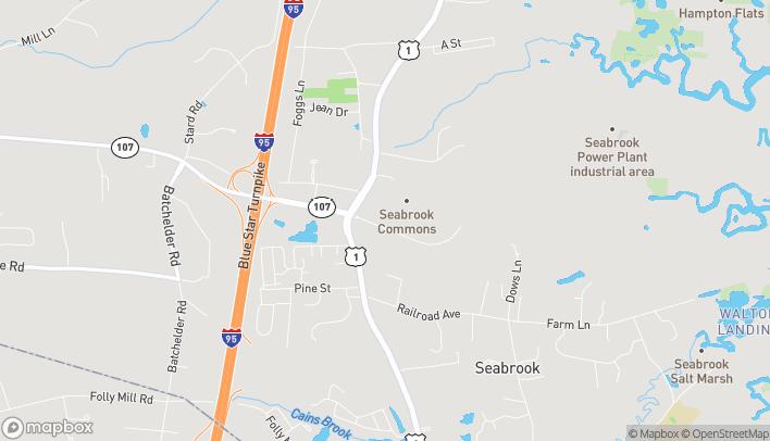 Mapa de 700 Lafayette Rd en Seabrook