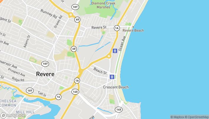 Mapa de 171 Vfw Pkwy en Revere