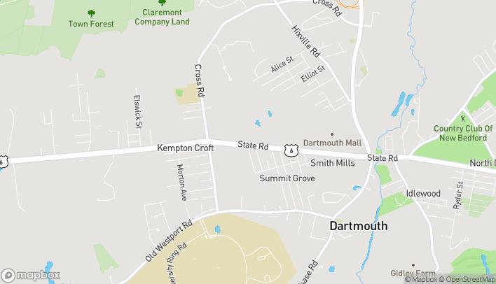 Mapa de 450 State Rd en North Dartmouth