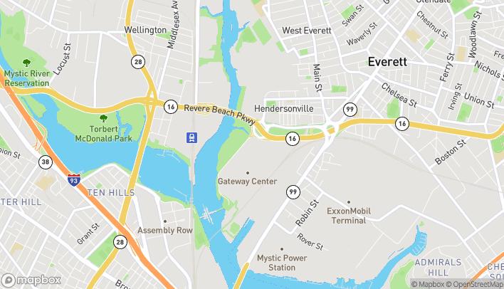 Mapa de 27 Mystic View Road en Everett