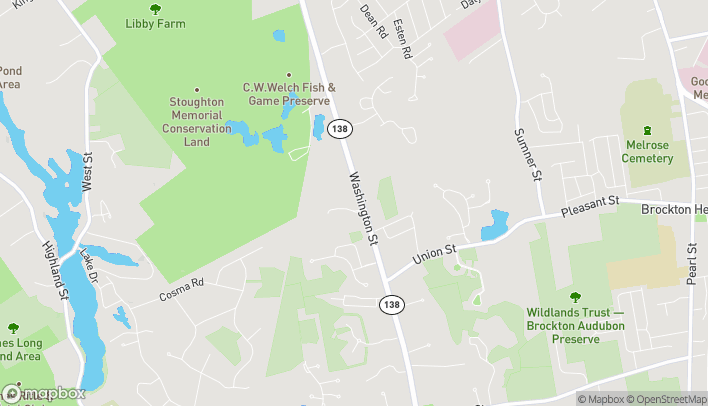 Map of 3 Roche Brothers Way in North Easton