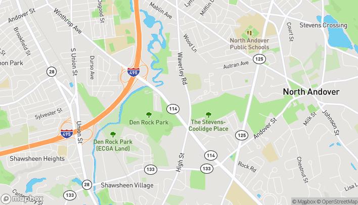 Map of 350 Winthrop Avenue in North Andover