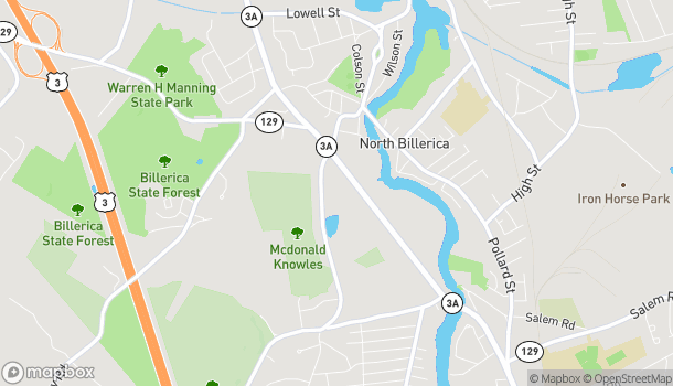 Map of 199 Boston Road in North Billerica