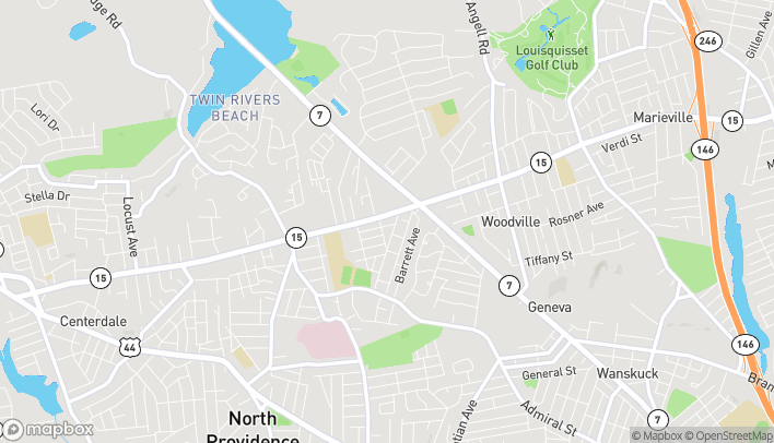 Mapa de 1744 Mineral Spring Avenue en North Providence