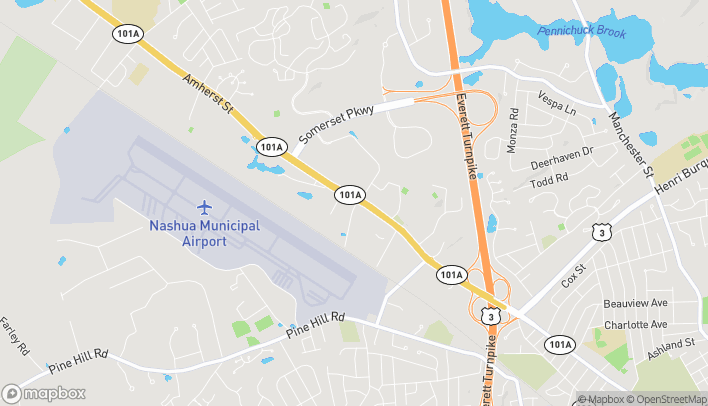 Map of 356 Amherst St in Nashua