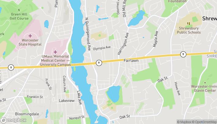 Mapa de 160 Boston Turnpike en Shrewsbury