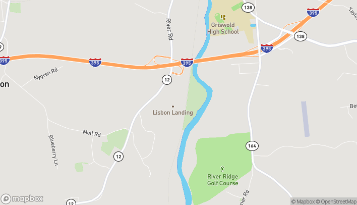 Map of 160 River Rd in Lisbon