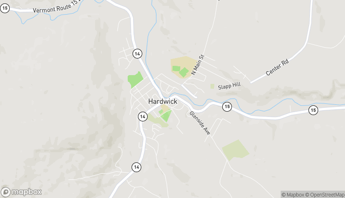Mapa de 35 South Main St en Hardwick