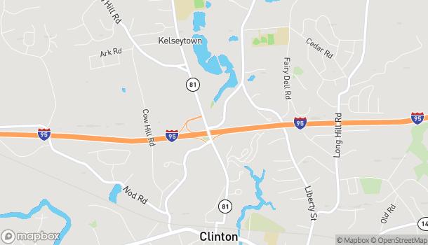 Mapa de 7 Glenwood Road en Clinton