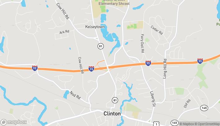Map of 7 Glenwood Road in Clinton
