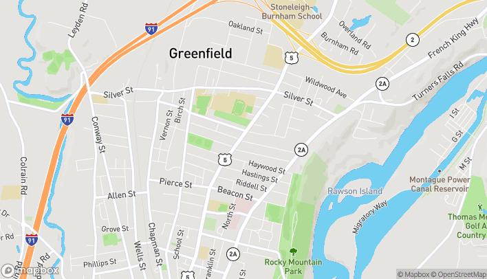 Mapa de 333 Federal Street en Greenfield