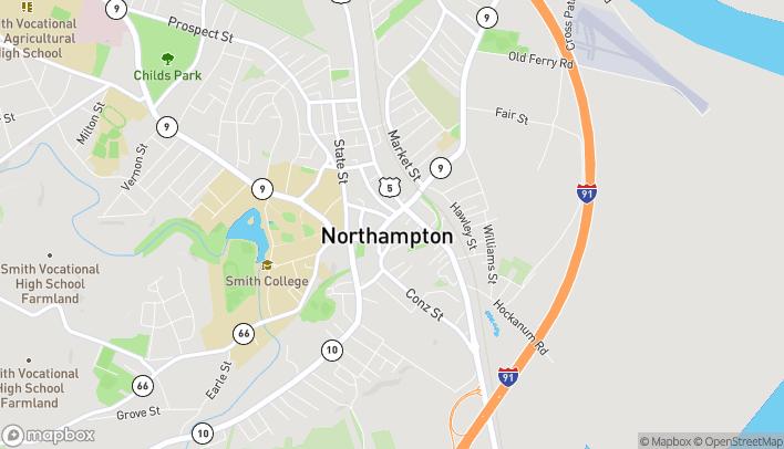 Mapa de 140 Main Street en Northampton