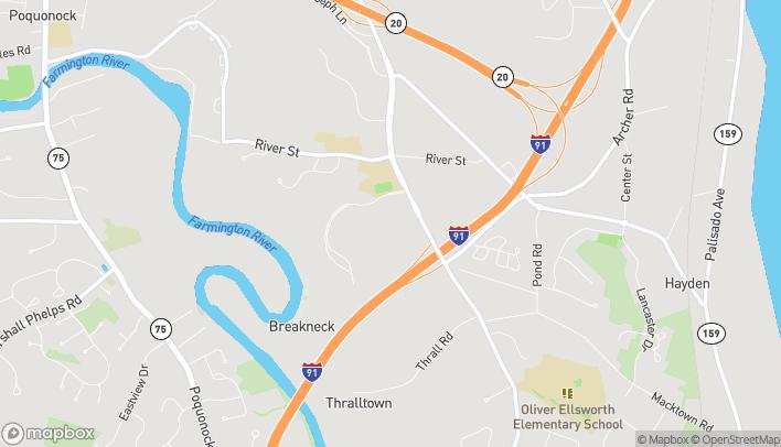 Mapa de 1095 Kennedy Rd en Windsor