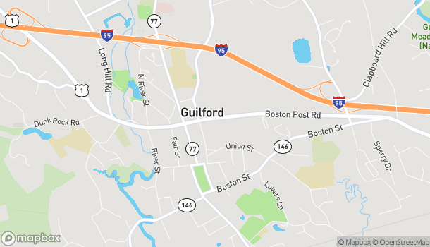 Map of 934 Boston Post Rd in Guilford