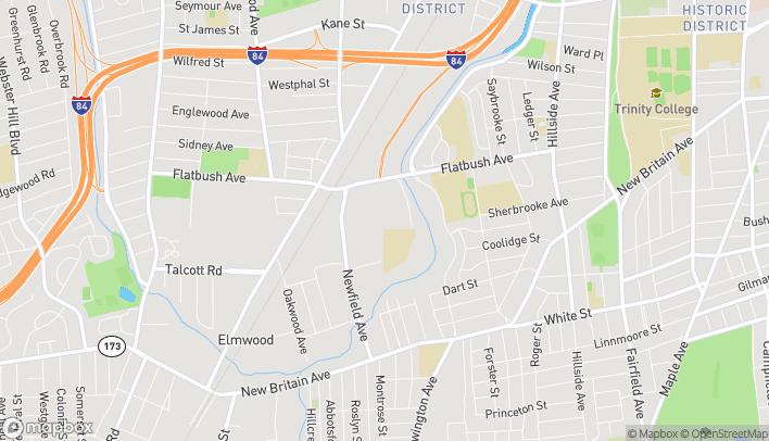 Mapa de 67 William Shorty Campbell St en Hartford