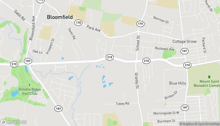 Mapa de 405 Cottage Grove Road en Bloomfield