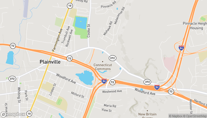 Map of 248 New Britain Ave in Plainville